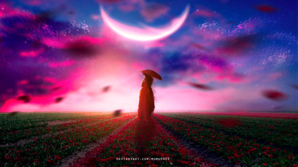 Moonlight Fields by mumu0909
