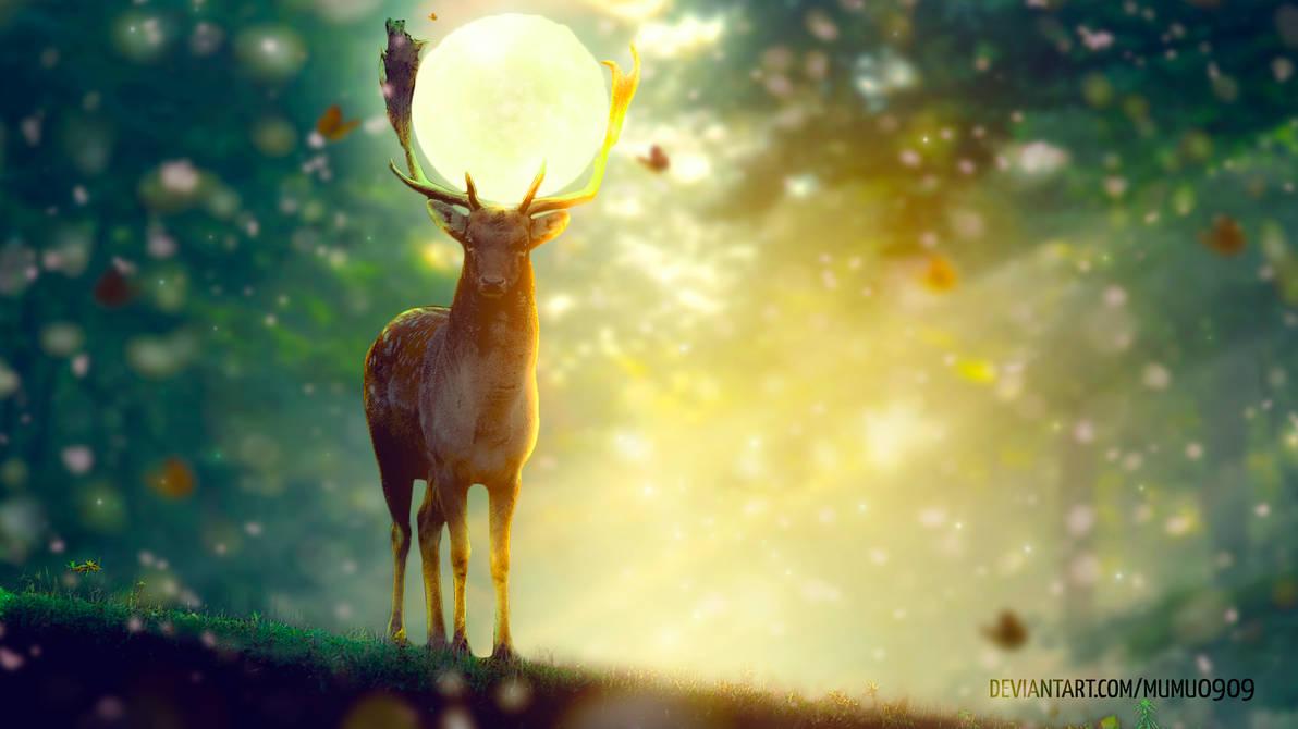 Fantasy Deer by mumu0909