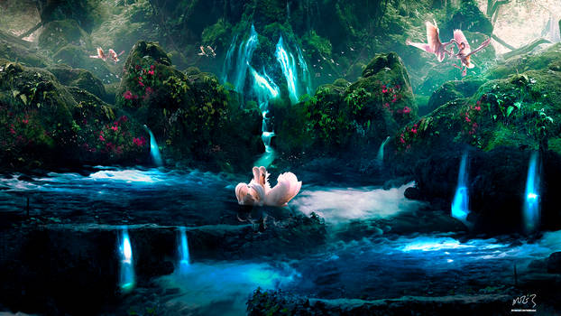 Swans Fountain