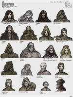 Castlevania: The Seal of the Curse Icons Page 1 by LegsHandsHead