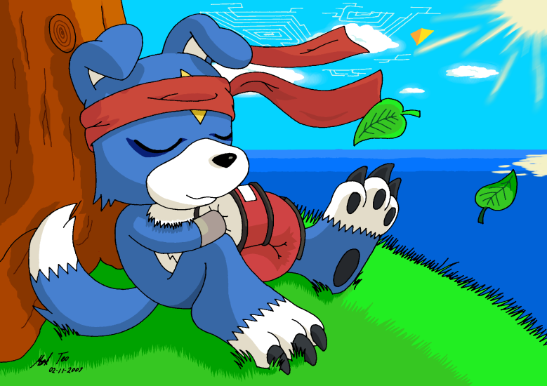 رجعت بـ (يوم ميلادي) الحفلة تنتظركم - صفحة 2 Gaomon___Memories_of_my_Master_by_Rapid_the_Hedgehog