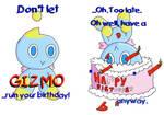 Gizmo Birthday card