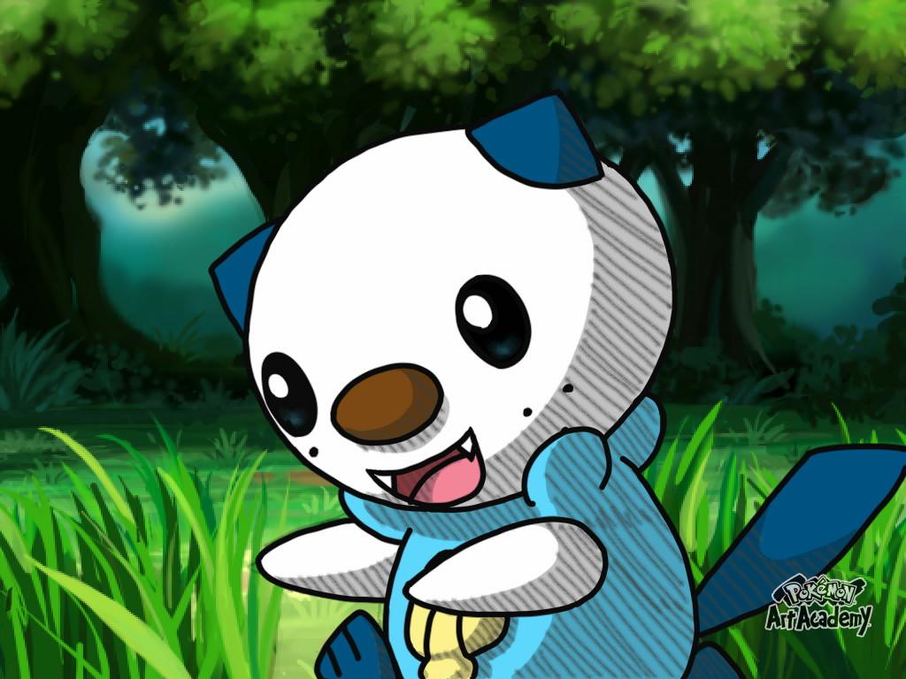 Pokemon Art Academy - Oshawott by Rapid-the-Hedgehog
