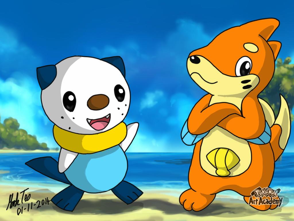 Pokemon Art Academy - Swapsies by Rapid-the-Hedgehog
