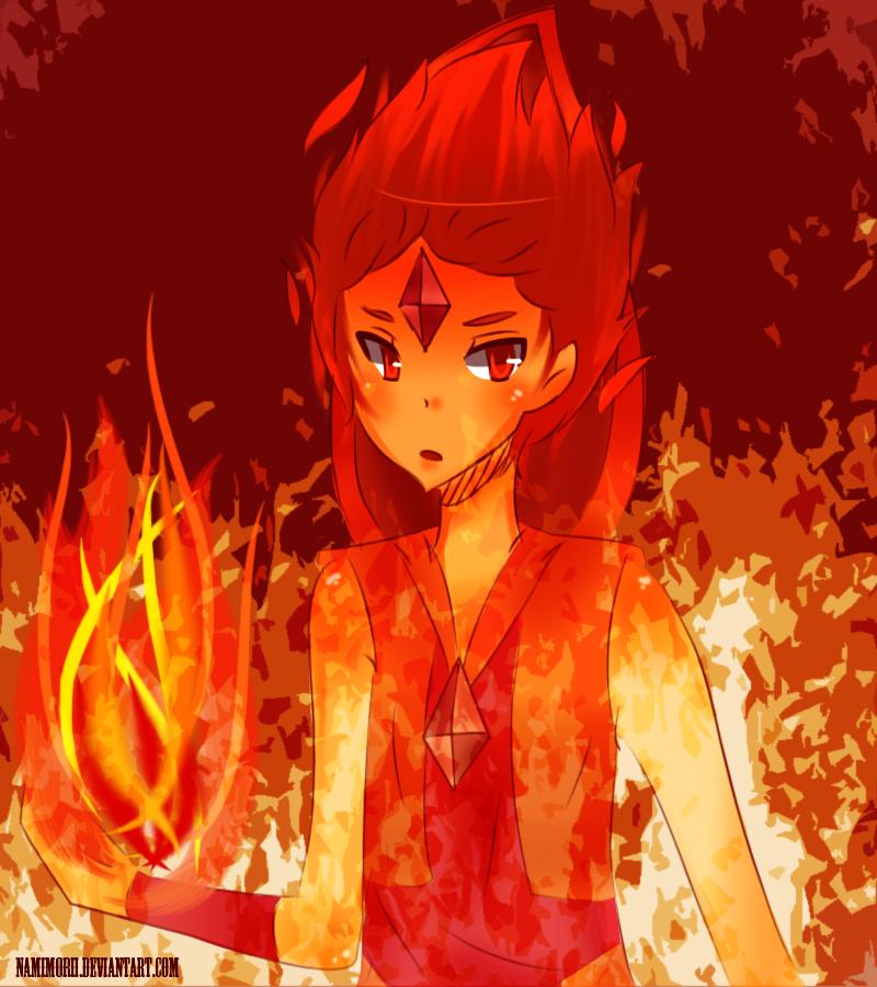 Flame Prince Anime Style