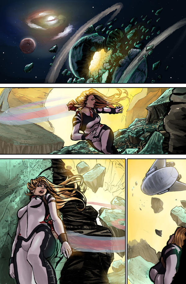 Silence Comics - Sequential art by viniciusdesouza