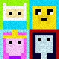 Adventure Time 8-Bit Icons by Frodo-kun