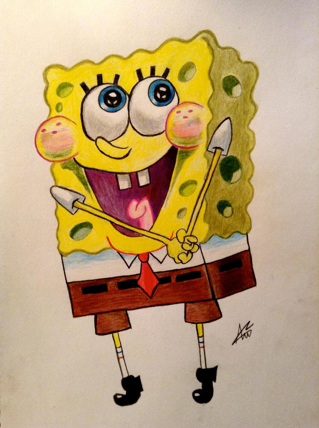 Spongebob Squarepants by Annzig