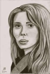 Scarlett Johansson by Annzig