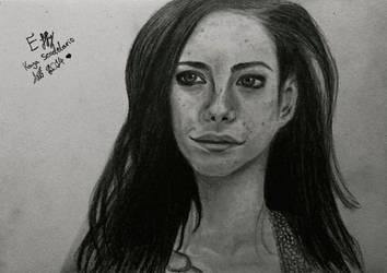Kaya Scodelario (Effy) II by Annzig