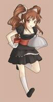 little waitress by Lina01