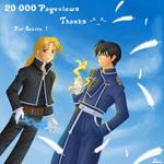 20000 kiriban _ for Sukiro by Lina01