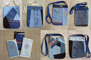 More Denim Upcycles