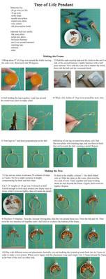 Simple Wire Wrap Tree Tutorial