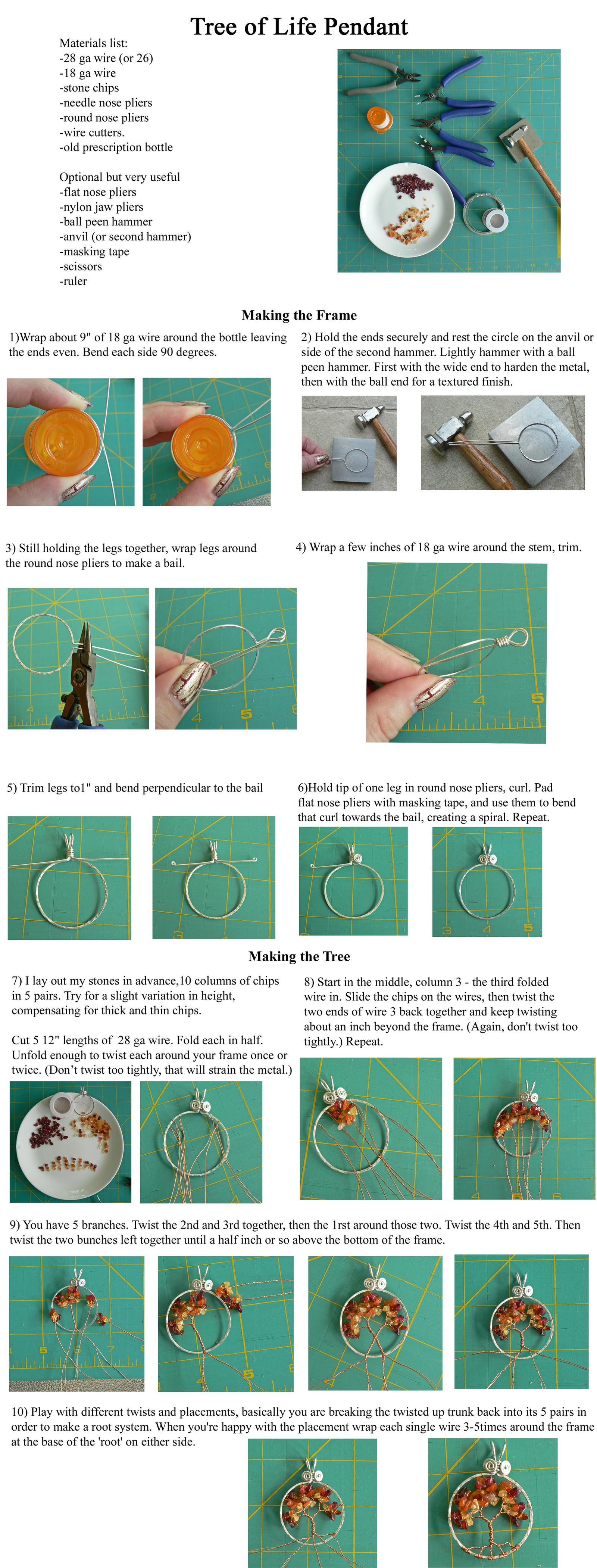 Simple wire wrap tree tutorial by magpie poet on deviantart simple wire wrap tree tutorial by magpie poet baditri Images