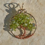 Gold and Copper Spring Tree of Life