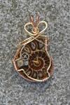 Professor Aronnax Ammonite Pendant