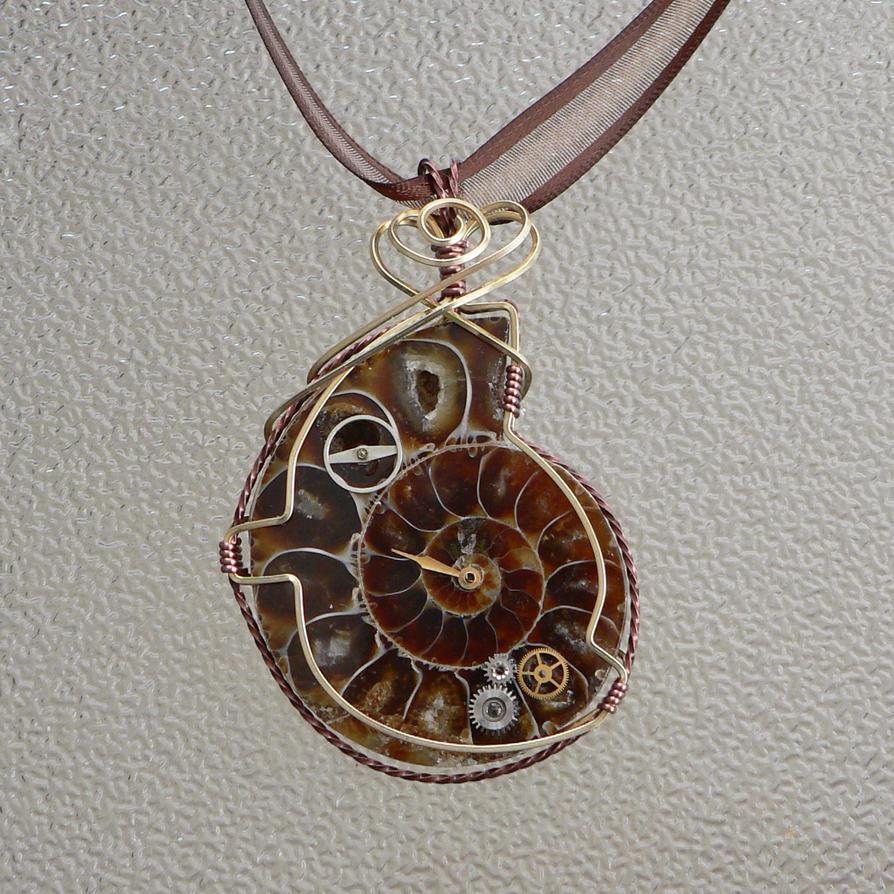 Steampunk Ammonite 2-15 by magpie-poet