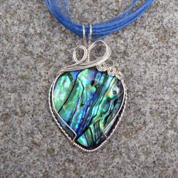 Art Nouveau Abalone Wrap