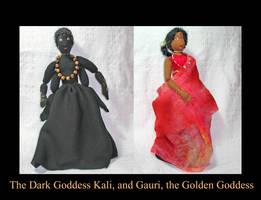 Kali Gauri Goddesses Doll
