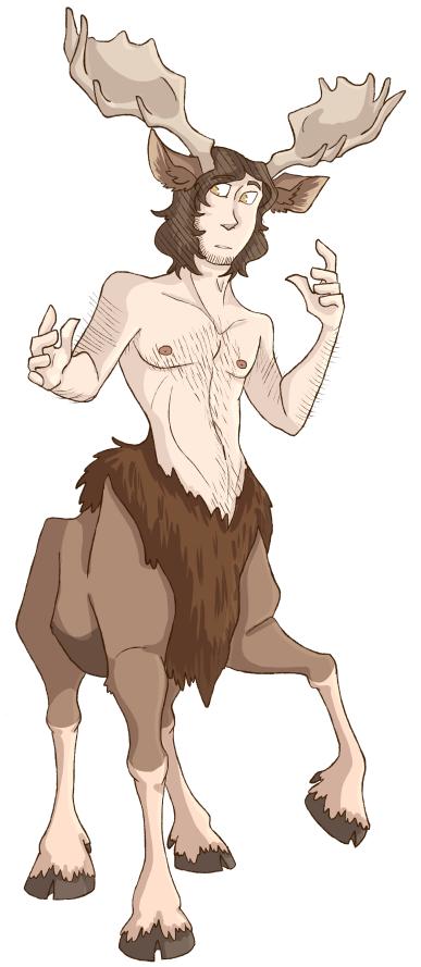 spn - centaur!sam by samalambis