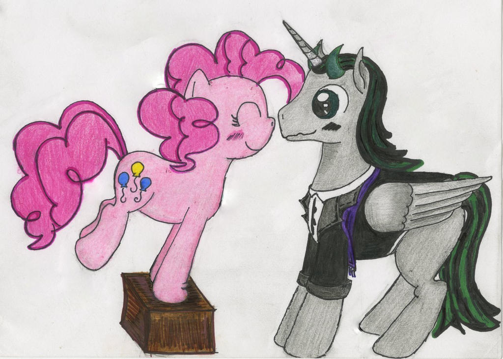 pinkie pie and rivet thorn by chibi