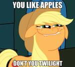You like apples