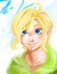 Skyward young Link