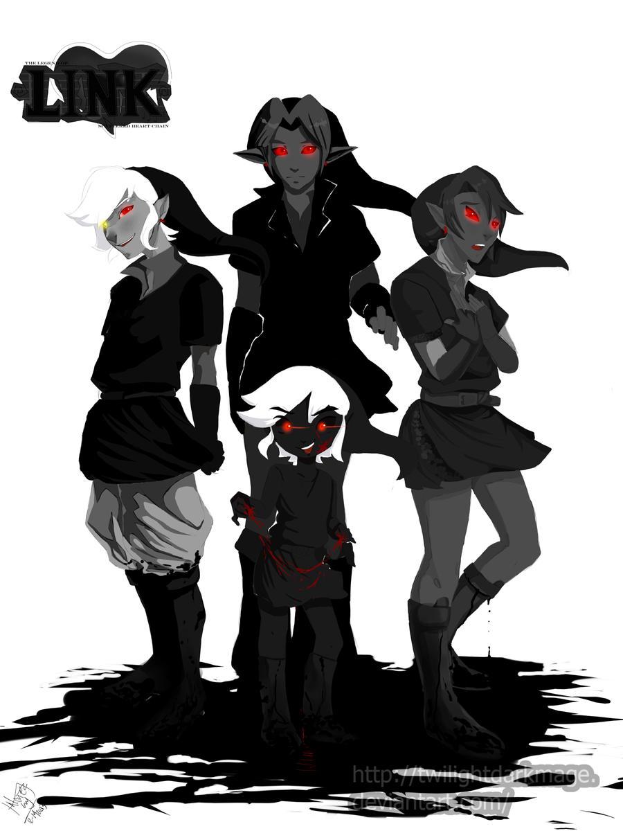 SHC- Dark Link ... Wolf Link Twilight Princess Fan Art