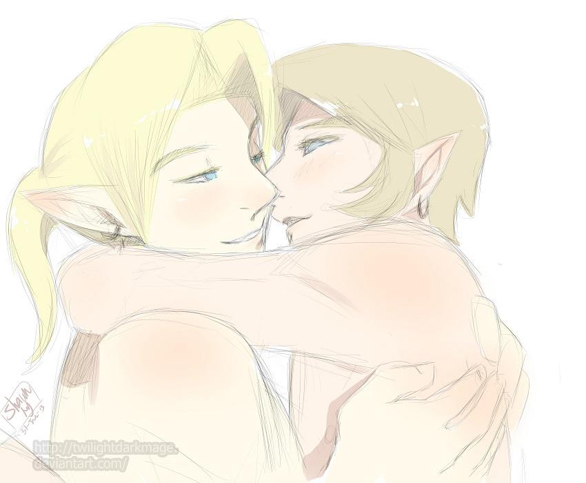 Let me kiss you... please? by Kim-SukLey
