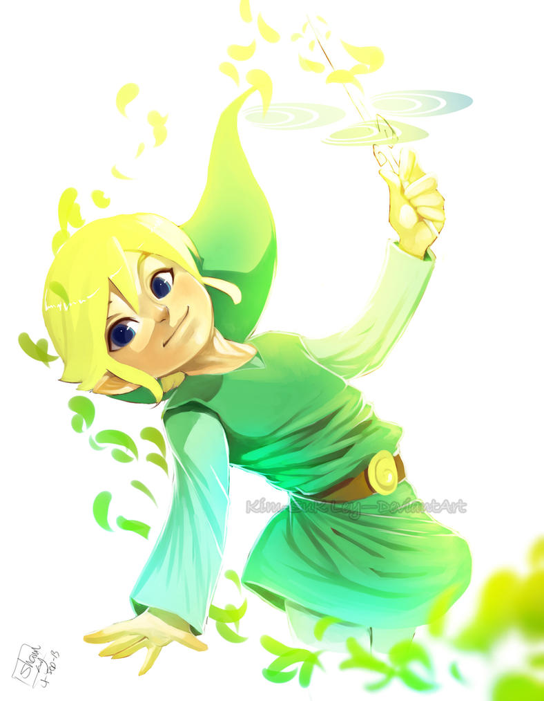 The boy and the Wind Waker by Kim-SukLey