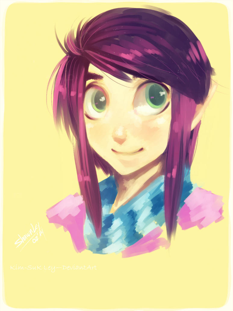 Ravio speed paint by Kim-SukLey