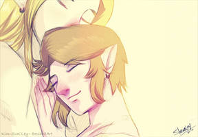 With you, I feel safe by Kim-SukLey