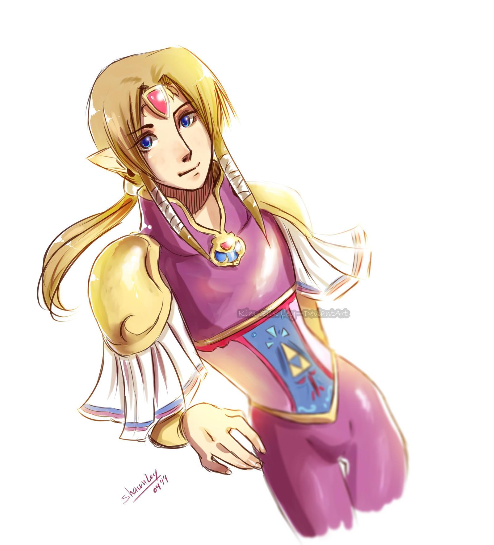 SHC- Prince Zelda by Kim-SukLey