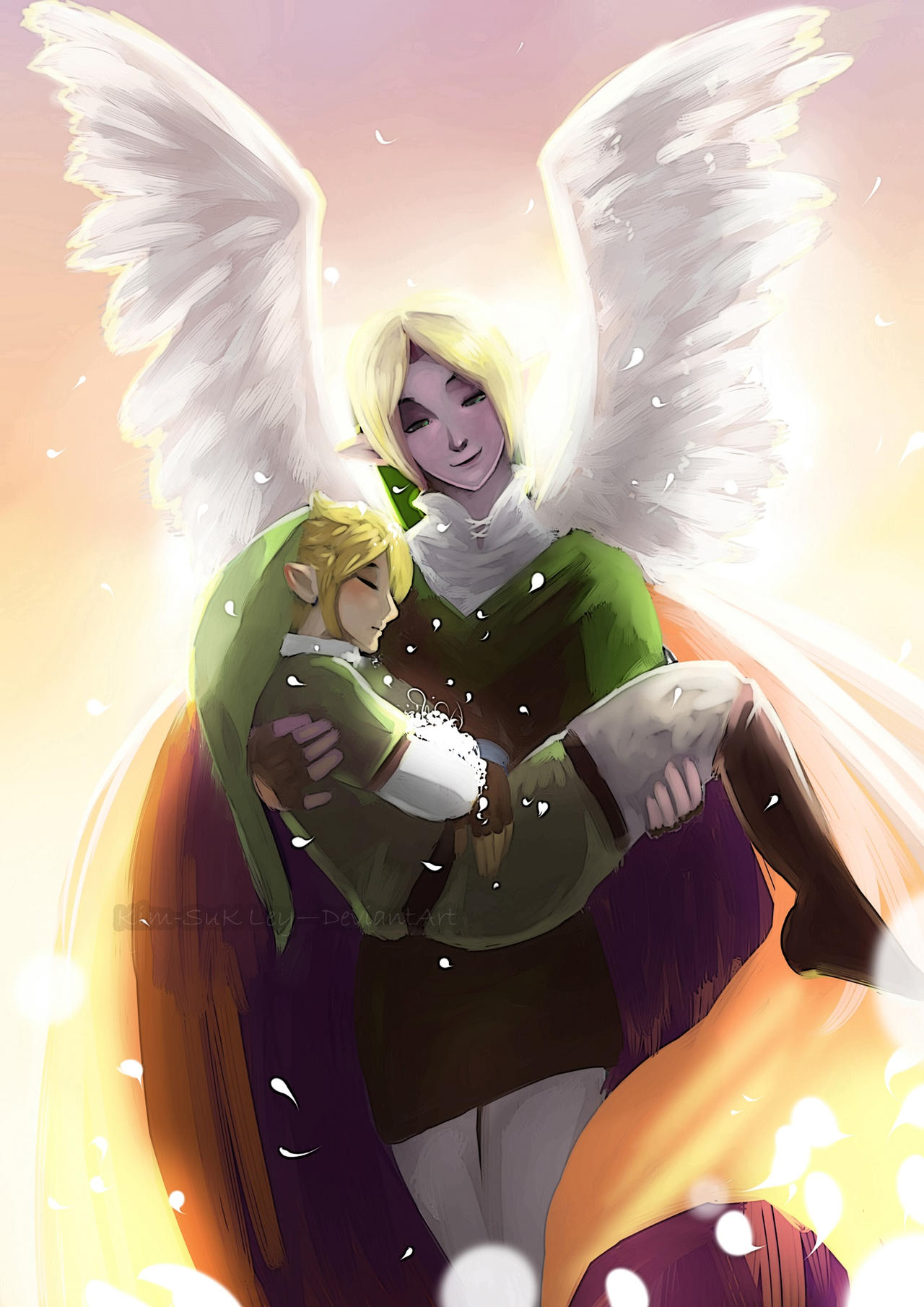 I leave thee my child by Kim-SukLey