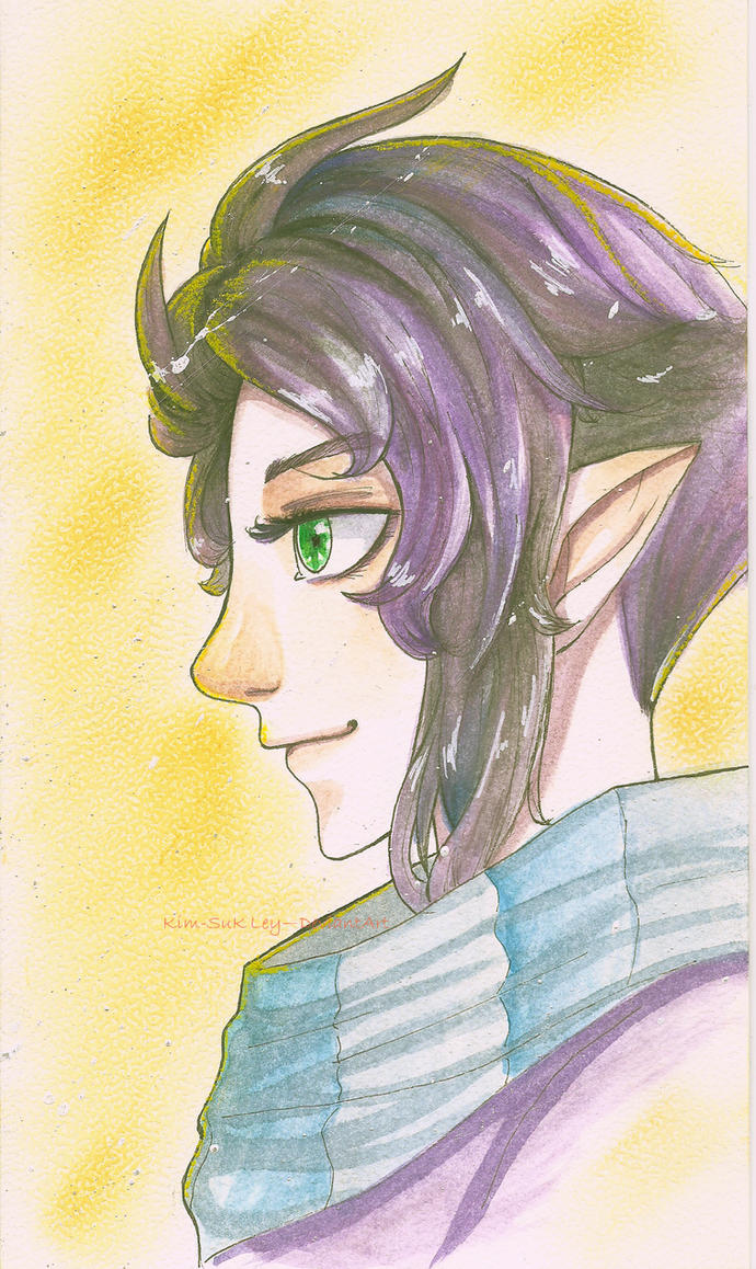 Purple perfect by Kim-SukLey