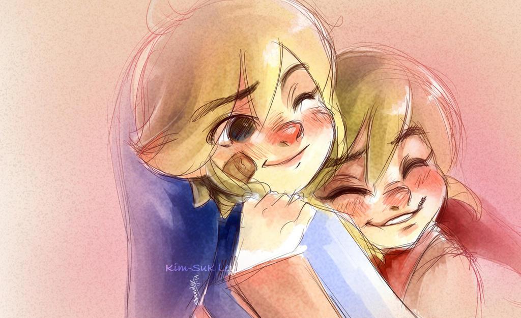 Best Bro hug! by Kim-SukLey