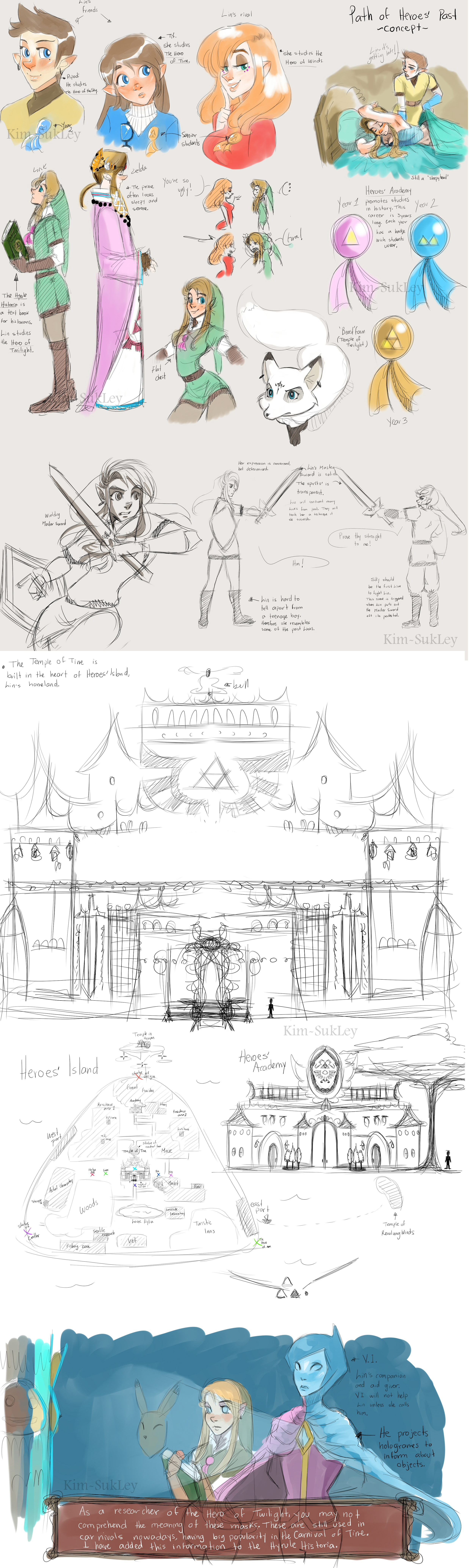 Path of Heroes' Past- Concepts by Kim-SukLey
