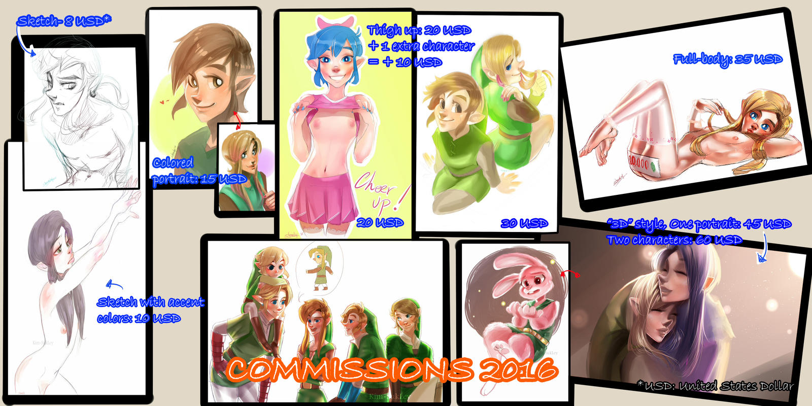Commission Information, 2016 by Kim-SukLey