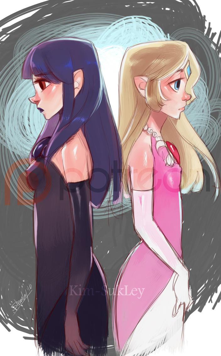 SHC- Hilda and Zelda by Kim-SukLey