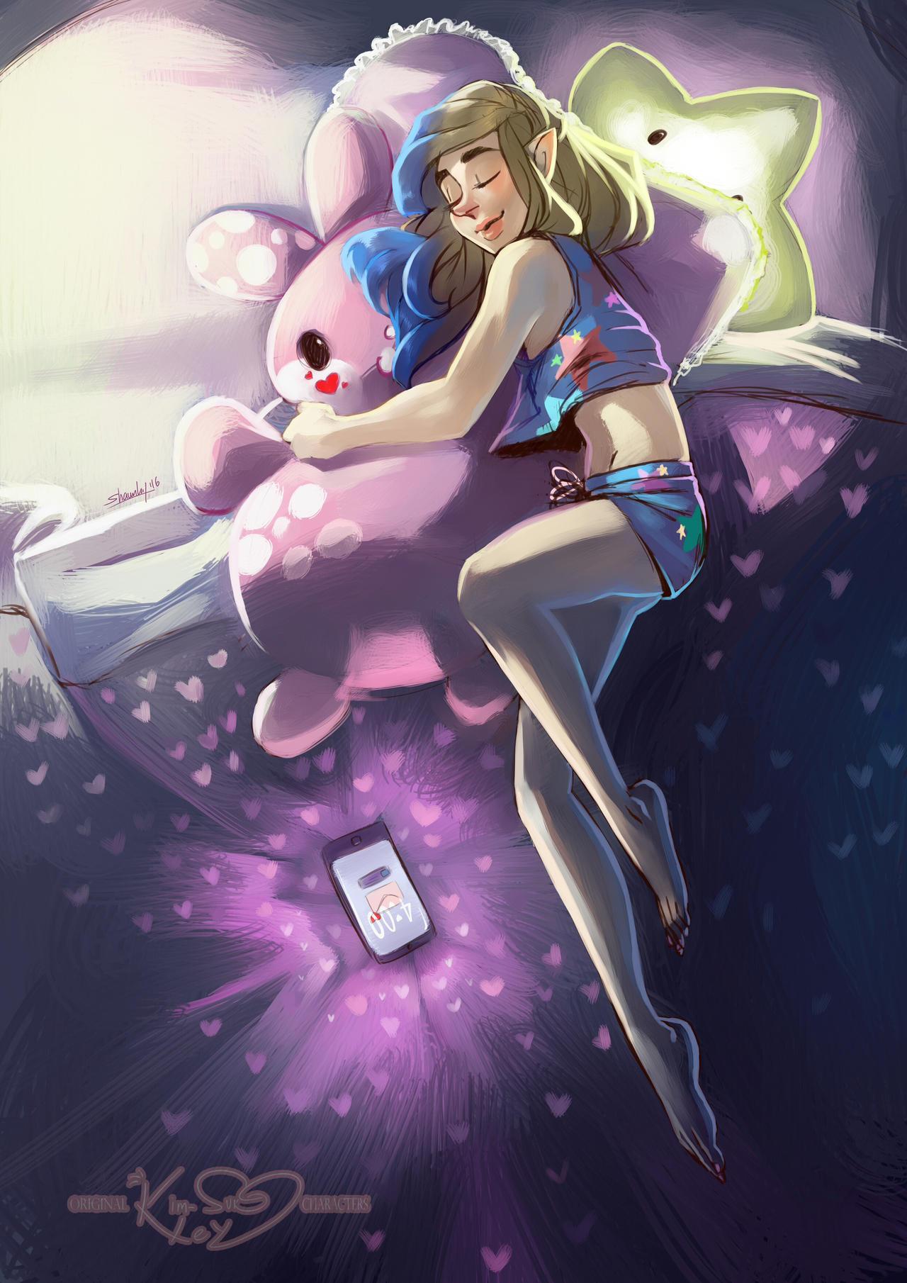 Sleep well by Kim-SukLey