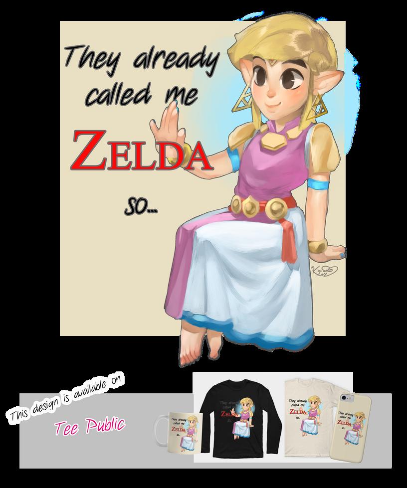 They already called me Zelda, so... by Kim-SukLey