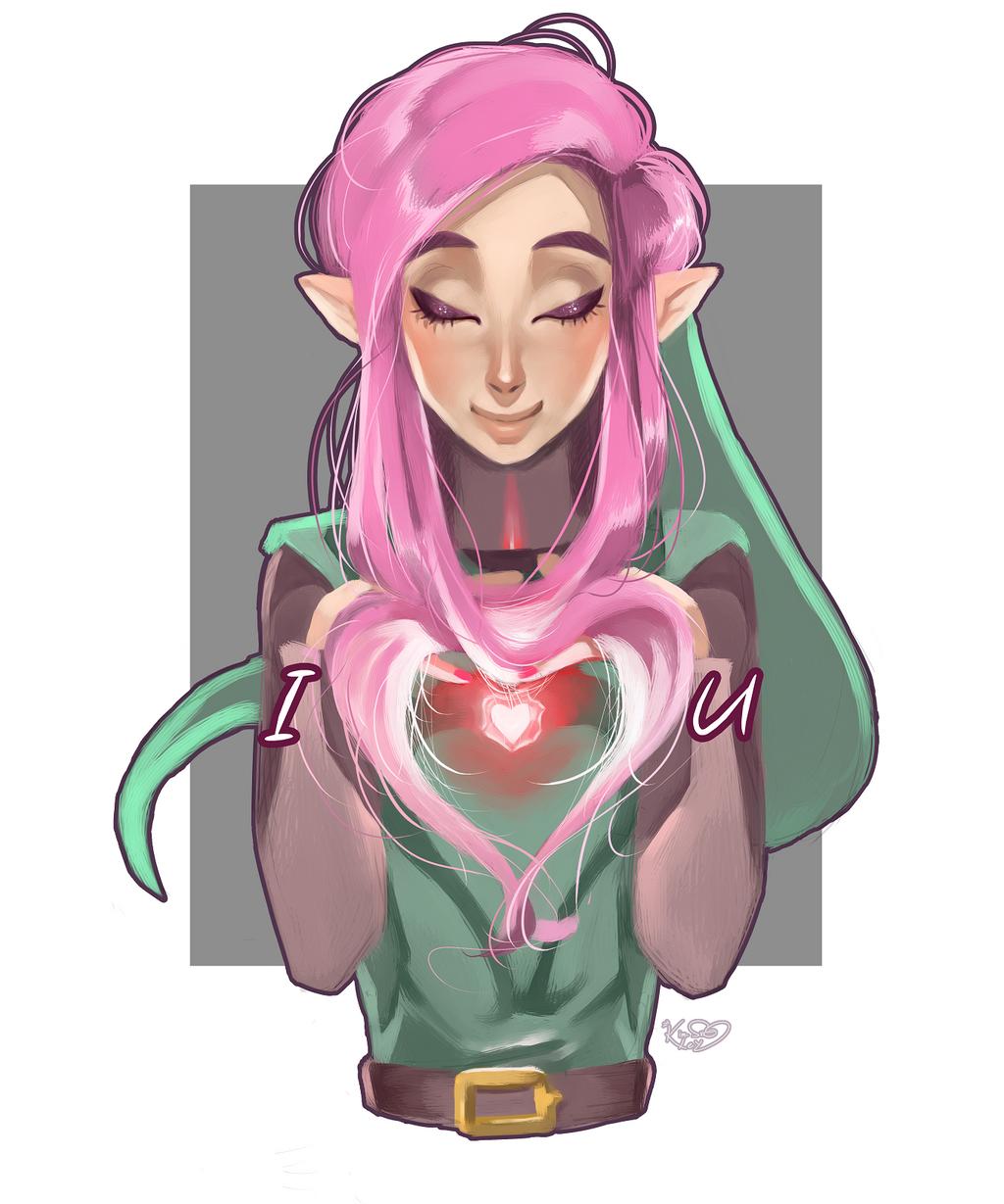 I heart you by Kim-SukLey