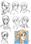 SHC- Restyle, Link sketches