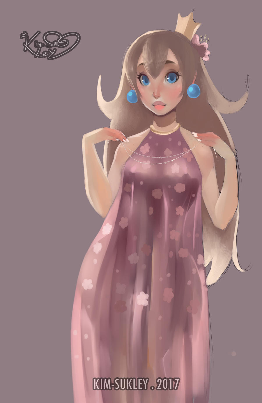 Blossom dress by Kim-SukLey