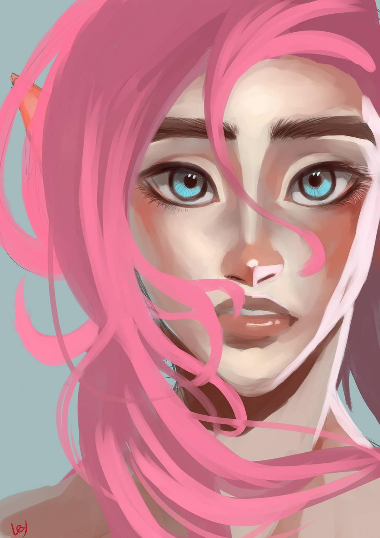 Pinky Linky by Kim-SukLey