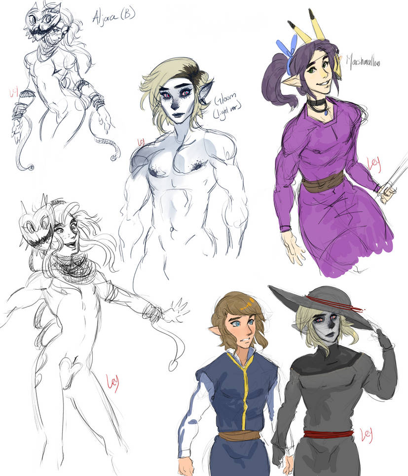 SHC Chapter 20 sketches by Kim-SukLey