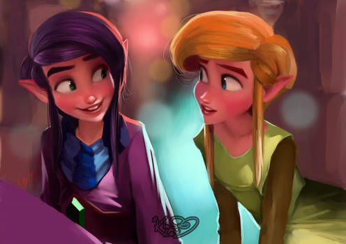 Ravio and his Link