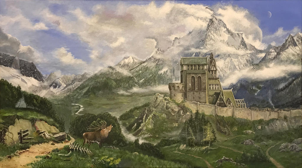 Whiterun Skyrim by thewebcatcher