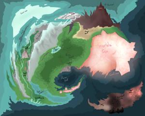 Forgotten world map